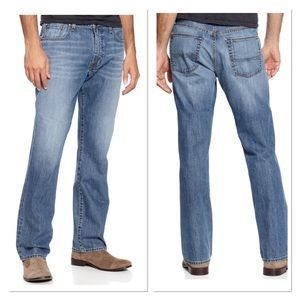 Lucky Brand 181 Denim Relaxed Straight Jeans Sz 42